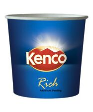 Kenco Rich Coffee Black or White 76mm Maxpax, vending, In Cup ,7oz ,Incup Drinks