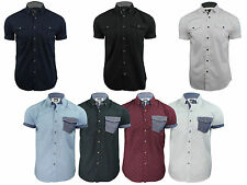 New Smith & Jones Soul Star Mens Short Sleeved Casual Summer Shirts