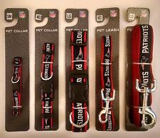 New England Patriots Officially Licensed NFL Dog Collar and/or Leash