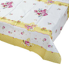 Vintage Style TABLE COVER/CLOTH -Tea Party- FULL TRULY SCRUMPTIOUS RANGE IN SHOP