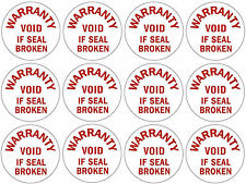 Tamper Proof 12mm Round Labels Seals - 360 for £5.99 inc. FREE First Class Post