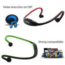 Sport Wireless Bluetooth Handfree Stereo Headset Headphone For iPhone Samsung LG