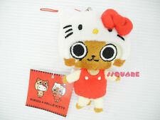 Monster Hunter Airou x Sanrio Hello Kitty 10cm Guise Plush Doll Phone Charm, MH