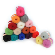 1pc Natural Angola Mohair Cashmere Wool Knitting Yarn High Quality 50g 20 Color