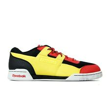 REEBOK WORKOUT PLUS 25TH BEATNIC J90972 (YELLOW/RED/BLACK) MEN'S SHOES SZ 14