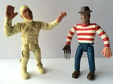 Vinyl Horror Bootleg Action Figures - Freddy Kruger and The Mummy