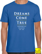 Leicester City FC Football T-Shirt Champions Premier League 2015 - 2016 Foxes
