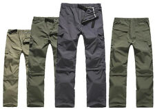 Hot Outdoor Quick Dry Short Pants Zip Off Leg Hiking Trousers Shorts Removable