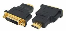 Gold Plated HDMI male Plug To DVI female Socket Adapter Converter