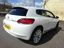 2011 11 REG VW SCIROCCO 2.0 GT TDI DIESEL COUPE WHITE CAT-D DAMAGED SALVAGE