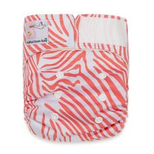 Newborn Diaper SALE! 1 Little Green Baby Bamboo Cloth Diaper+2 Bamboo Inserts
