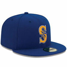 New Era 5950 SEATTLE MARINERS Alternate 2 Cap Fitted MLB Baseball Hat On Field