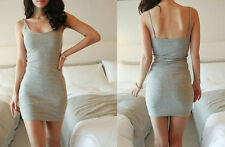 Vest Sleeveless Summer Tight Dress Bottoming Skirt Hip Sexy Package