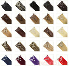 """Clip In Real Remy Human Hair Extensions 15-22"""" 7PCS 70g Full Head  Blonde Black"""