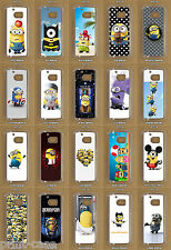 HTC 10 Despicable Me / Minions Custom Made Clear Phone Case