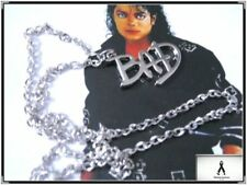 MICHAEL JACKSON BAD Style Necklace Free Shipping!