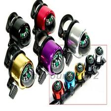 Ring Handlebar Bell Sound for Mountain Bike Bicycle with Compass Multicolour