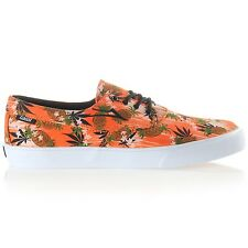 LAKAI CAMBY PINEAPPLE ORANGE CANVAS MENS CASUAL SKATE SHOES SNEAKERS CLEARANCE