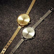 New Women's Fashion Numerals Charismatic Analog Round Dial Wrist Watch 2 Colors