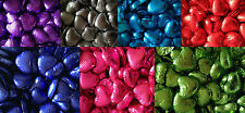 Foil Wrapped Milk Chocolate Hearts. Choose Qty and Colour. Wedding Favour Party