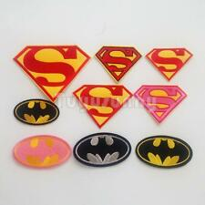 Fashion Cool Superhero Logo Motif Embroidered Applique Cloth Sew Iron On Patch