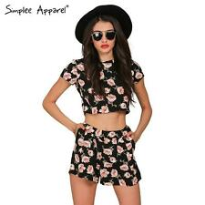 BOHO FLORAL WOMEN JUMPSUIT ROMPER PLAYSUIT SEXY SHORTS ROMPERS TWO PIECE PRINT S
