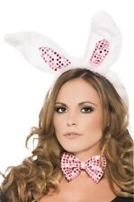 KIT DE BUNNY SEXY PLAYBOY WITH LITTLE EARS BOW TIE COSTUME EROTIC FOR WOMAN