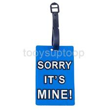 Luggage Tags Suitcase Hand Bag Baggage Name Address ID Label Travel Accessories