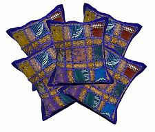5pcs-100Pcs Traditional Ethnic Patchwork Cushion Covers Wholesale Lot From India