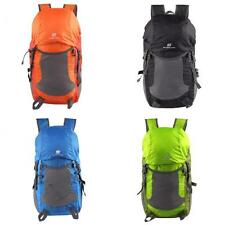 35L Outdoor Sports FOLDABLE Hiking Travel Camping Backpack Luggage Rucksack Pack