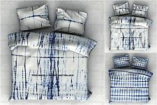 Shibori Indian Tie Dye Bedspread Ethnic Blanket Hippie Bed sheet With 2 Pillows