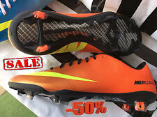 Nike Mercurial Vapor IX FG 555605 778 Football / Soccer / New / SALE 50%