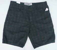 Mens Men's AEROPOSTALE Plaid Skate Flat Front Shorts NWT #7260