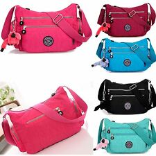 Women Girl Shoulder Bag Handbag Purse Waterproof Nylon Messenger Crossbody Tote