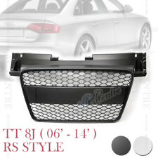 TTRS HONEYCOMB SPORT FRONT HOOD GRILLE for AUDI TT TTS 8J 2006-2009 2 VERSIONS