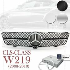 (3 Colors) Front Mesh Grille AMG for Mercedes Benz CLS Class W219 2008-10 OEM