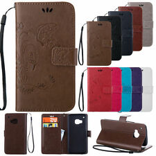 Luxury Filp Leather Wallet Card Kickstand Hand Strap Cover Case For HTC One M9