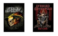 AVENGED SEVENFOLD A7X - FLYING / HAIL TO THE KING  OFFICIAL TEXTILE POSTER FLAG