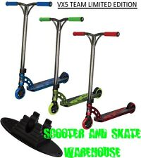 MADD GEAR MGP VX5 TEAM LIMITED EDITION COMPLETE SCOOTER WITH SCOOTER STAND