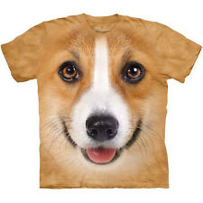 CORGI DOG T-Shirt The Mountain Funny Big Face Mens Sizes S-3XL NEW