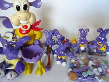 Complete Collectible Figures Set MILKA MILKINIS Figurines Toy Cow Bunny