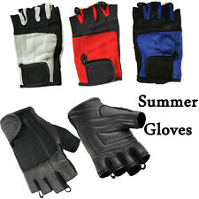 Hugger Fingerless Women's Summer Touring Motorcycle Riding/Driving Gloves Gel