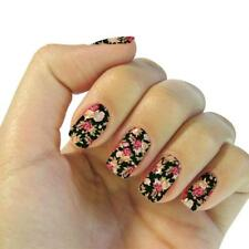 Nail Polish Art Sticker Patch Set Full Wraps Nail Tip Foils Decal Decor Adhesive