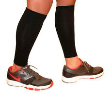 Calf Compression Sleeve Running Training Exercise Athletic Leg Sleeve (Pair)