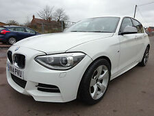 2014 14 REG BMW 1 SERIES M135i 3.0 SPORT WHITE NEW SHAPE CAT-D DAMAGED SALVAGE