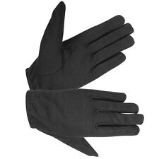 HUGGER Police Style Gloves Driving Motorcycle Men's Kevlar Lined Search Duty