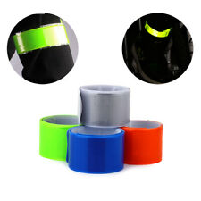 4x Sports Running Jogging Bicycle Cycling Reflective Safety Band Arm Pant Strap