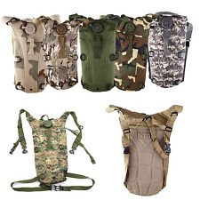 2.5L TPU Hydration System Bladder Water Bag Pouch Backpack Hiking Climbing WS