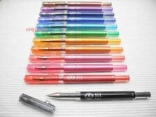 Pilot Hi-Tec-C Maica 0.4mm Ultra Fine Rollerball Gel Pen, 12 Colours Available