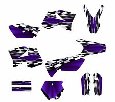 KTM SX 85 SX105 graphic kit 2006 2007 2008 2009 2010 2011 2012 #2500-Purple